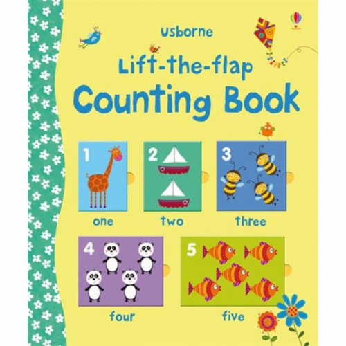 Usborne Lift-the-flap counting book 數數