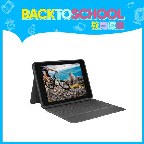 Logitech Rugged Folio 藍牙鍵盤保護殼 (iPad 第7代用)