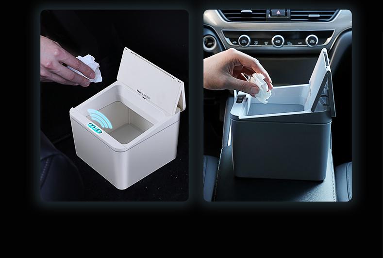 Exped Smart 智能感應車用桌面垃圾桶