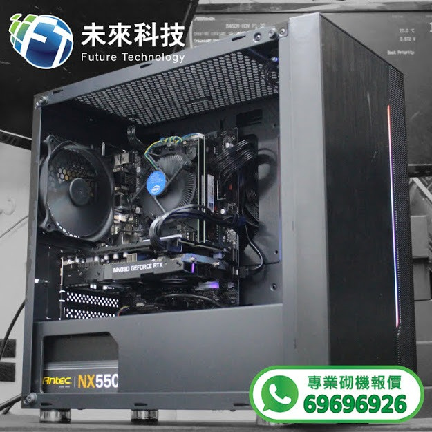 【📞Whatsapp:69696926 專業組裝電腦 全網最平 💡最快四小時內送到🚀】Intel Core I5-10400F處理器 /ASUS PRIME H410M-E主機板/ LEXAR DDR4 8GB 2666MHz UDIMM DESKTOP 高速記憶體/ WD Blue M.2 SN550 500GB M.2 2280 SSD