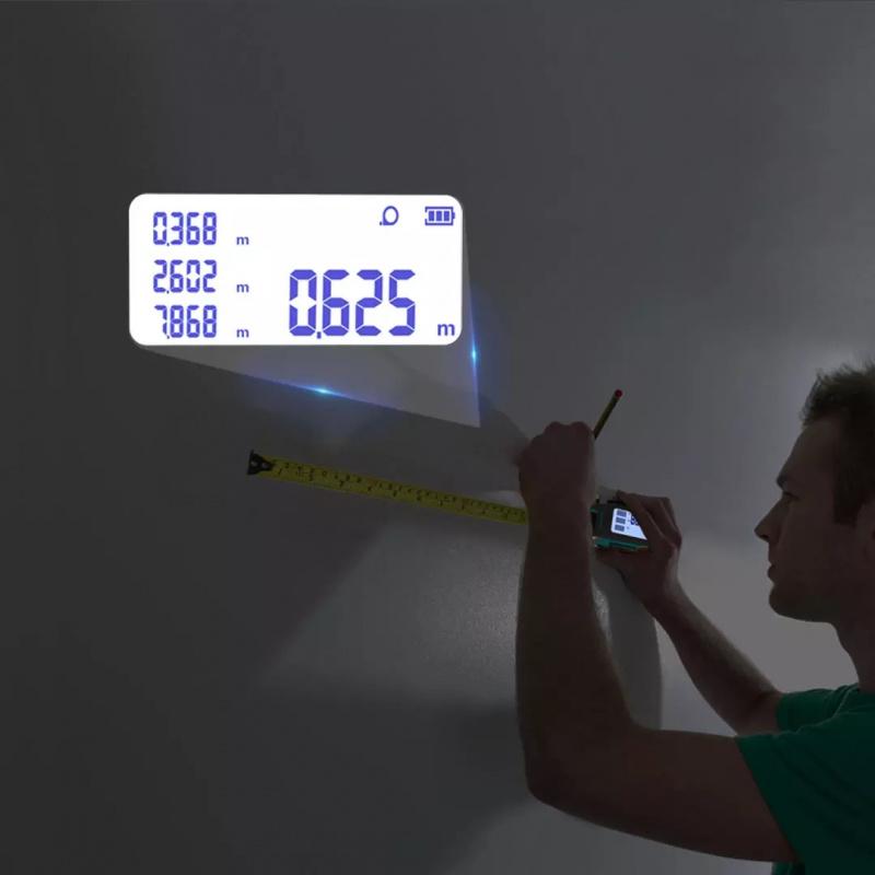 【小米有品】邁測DT20數顯激光測距儀捲尺 3-5天發出