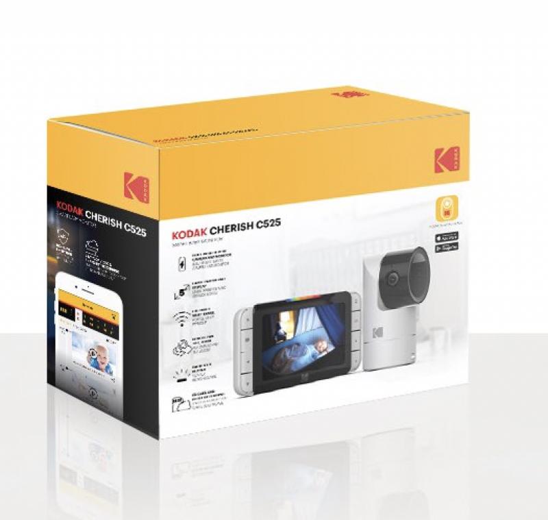 Kodak 柯達 - CHERISH C525 智能嬰兒5吋屏幕高清監視器
