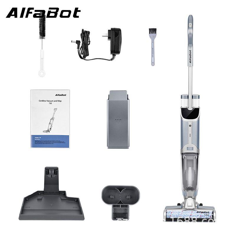 Alfabot T30 乾濕兩用無線真空吸塵機連吸拖洗一體