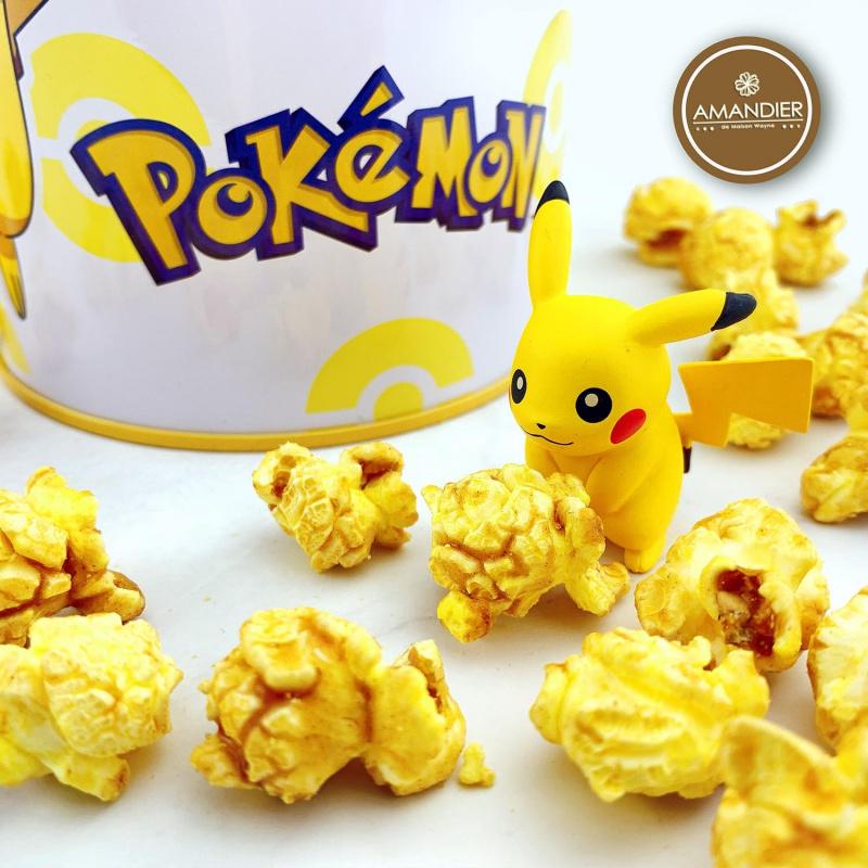 Pokémon 寵物小精靈錢筒爆谷[比卡超][奶油蜂蜜風味]