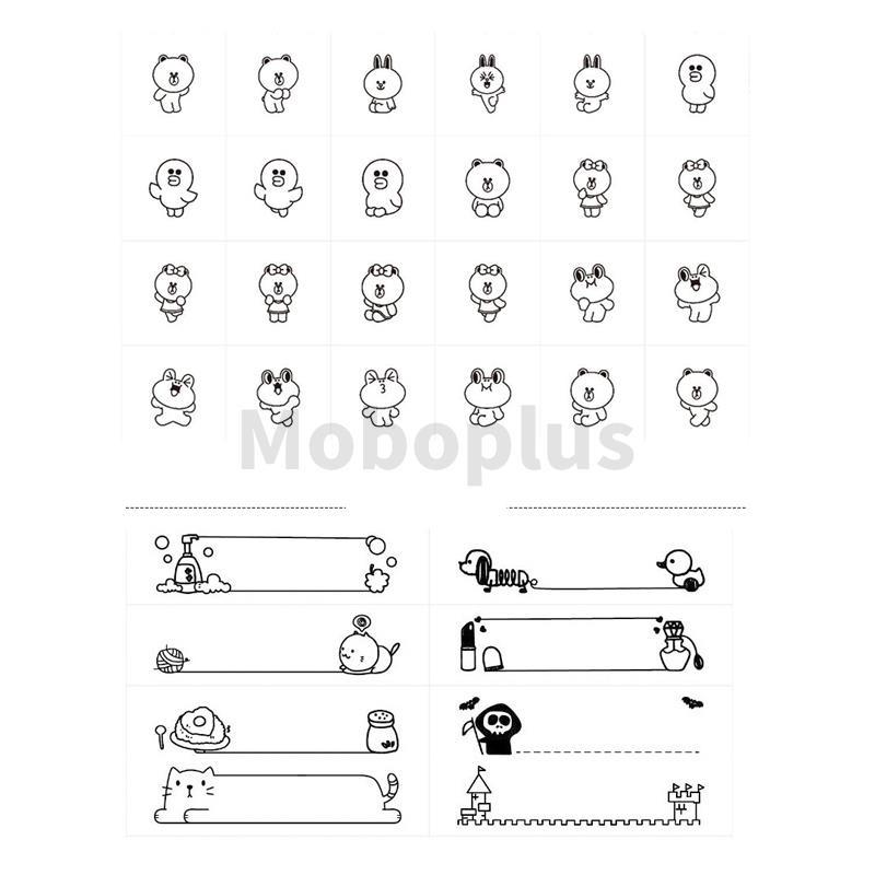 小米 - 井井 x Line Friends 標籤打印機 3-5天發出