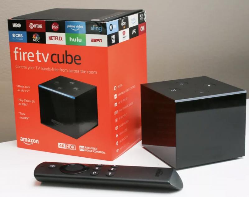 亞馬遜 Amazon Fire TV Cube 智能電視機頂盒《平行進口產品》