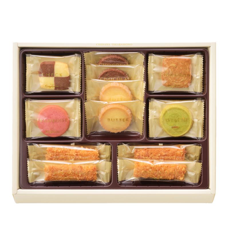 日本 銀座Cozy Corner 法式小寶箱 雜錦曲奇禮盒 (1盒20件)【市集世界 - 日本市集】