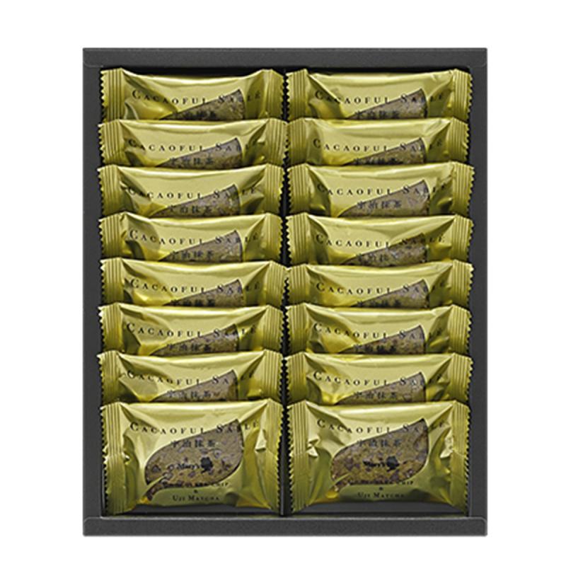 日本Mary's 法式Sable 曲奇 關西限定 宇治抹茶 朱古力碎曲奇禮盒 (1盒16塊)【市集世界 - 日本市集】