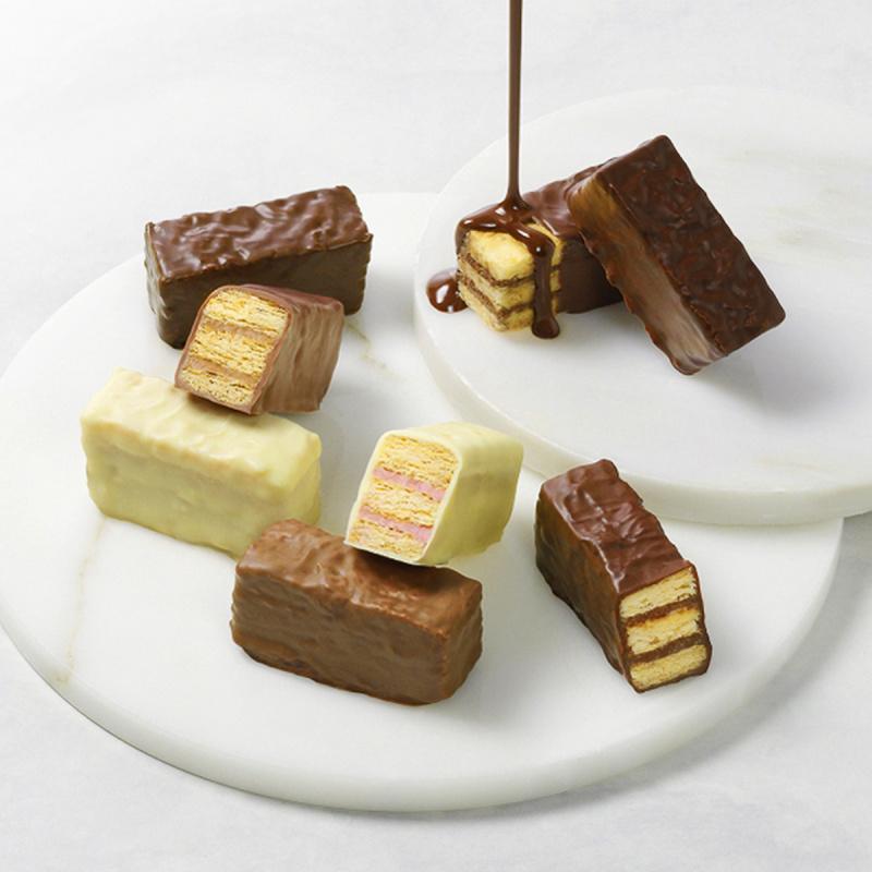 日本Mary's 法式千層酥餅 3款朱古力雙層忌廉夾心禮盒 (1盒10件)【市集世界 - 日本市集】