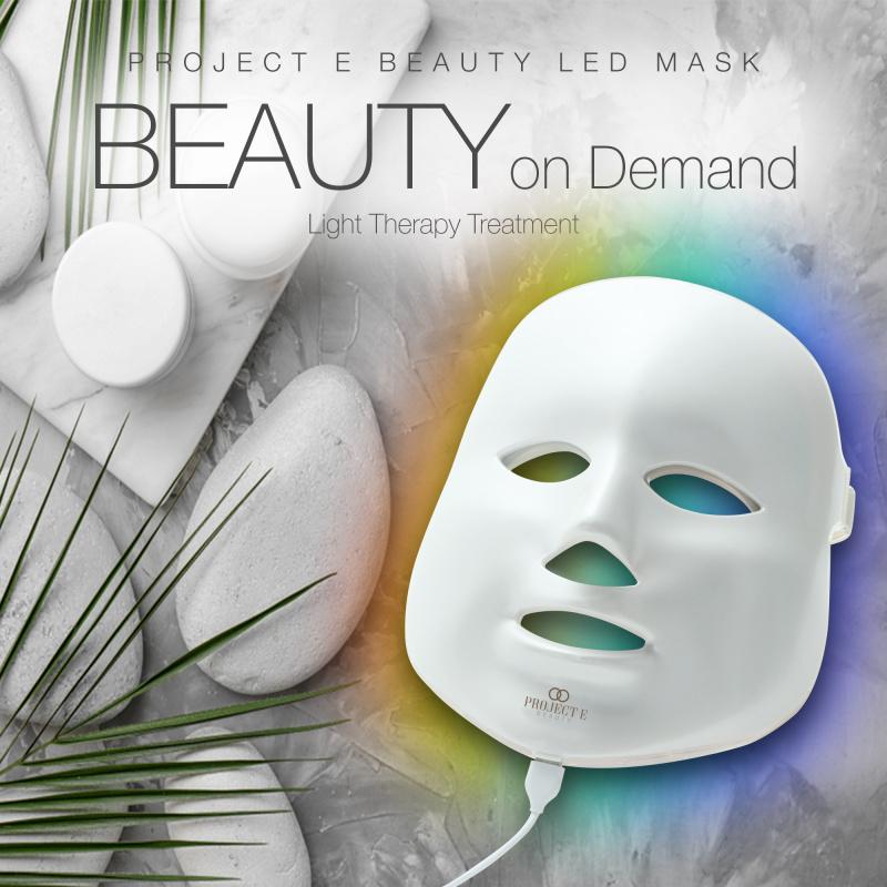 Project E Beauty 家用7色彩光去痘印嫩膚美白淡斑彩光面罩