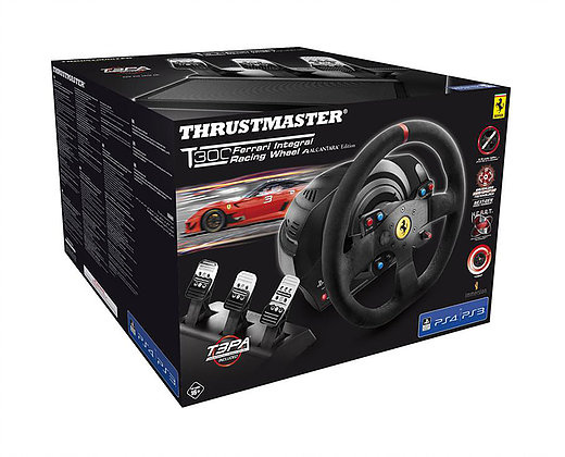 T300 Ferrari Integral Racing Wheel Alcantara Ed. 力回饋方向盤