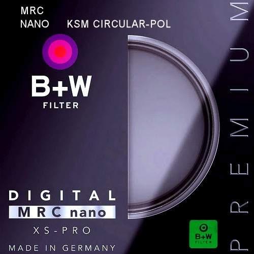 B+W 82mm XS-Pro HTC Nano Mrc Kaesemann Circular Polarizer