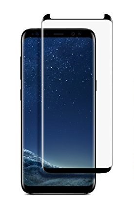 NEWAGE Premium Tempered 3D Curved Glass Screen Protector Slim ver For Samsung Galaxy S8 Plus