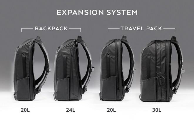 美國NOMATIC Backpack and Travel Pack日用多功能旅行背包