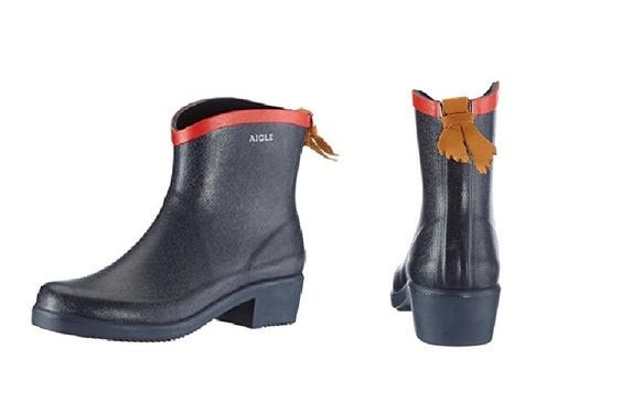 AIGLE Miss Juliette Bottillon 雨靴 - 紅色 Size EU-37