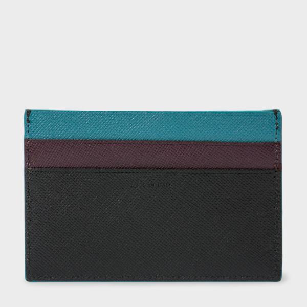 Paul Smith Saffiano Leather 男裝黑色卡套
