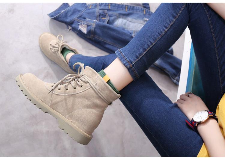 I Love Socks 日系休閒風素色短襪 - 白色 2對