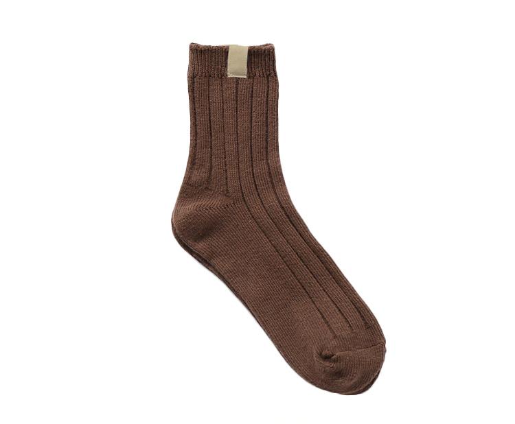I Love Socks 日系休閒風素色短襪 - 彩色 2套10對
