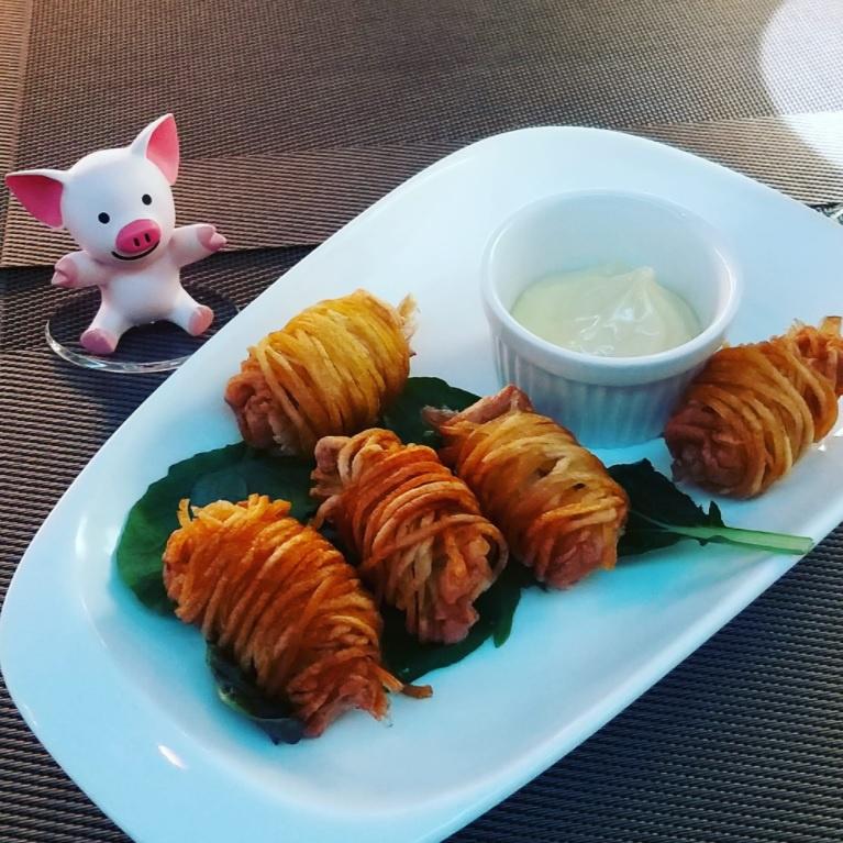 香脆薯絲蝦