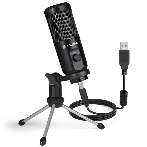 MAONO USB Gaming Microphone with Mic Gain (AU-PM461TR)