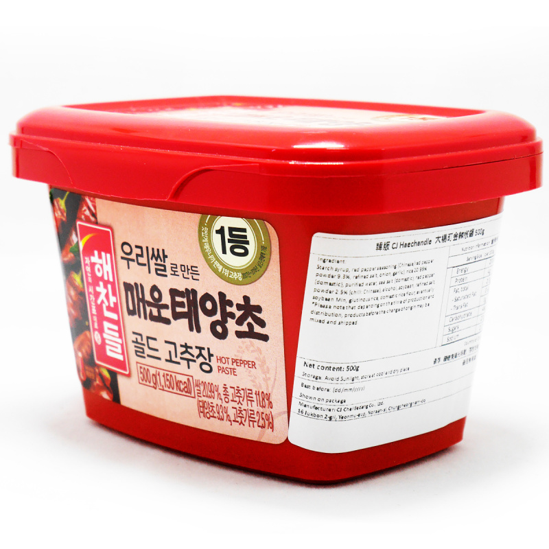 韓版CJ Haechandle 大楊町金辣椒醬 500g【市集世界-韓國市集】