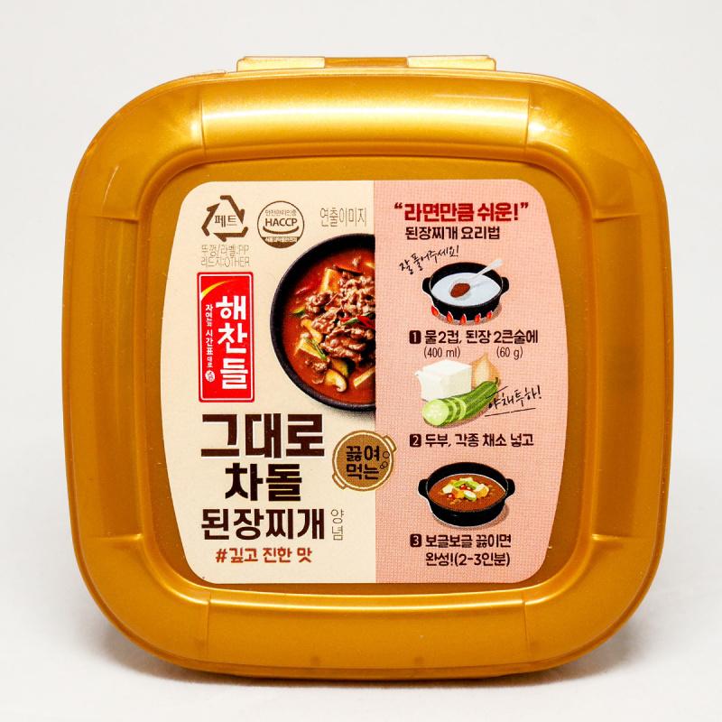 韓版CJ Haechandle 牛肉大醬 450g【市集世界-韓國市集】