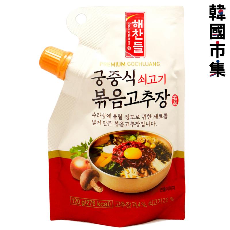 韓版CJ Haechandle 宮廷牛肉炒辣椒醬 120g【市集世界-韓國市集】