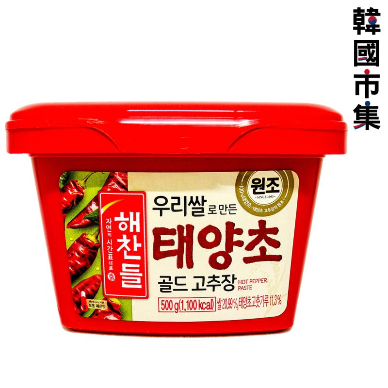 韓版CJ Haechandle 辣椒醬 500g【市集世界-韓國市集】