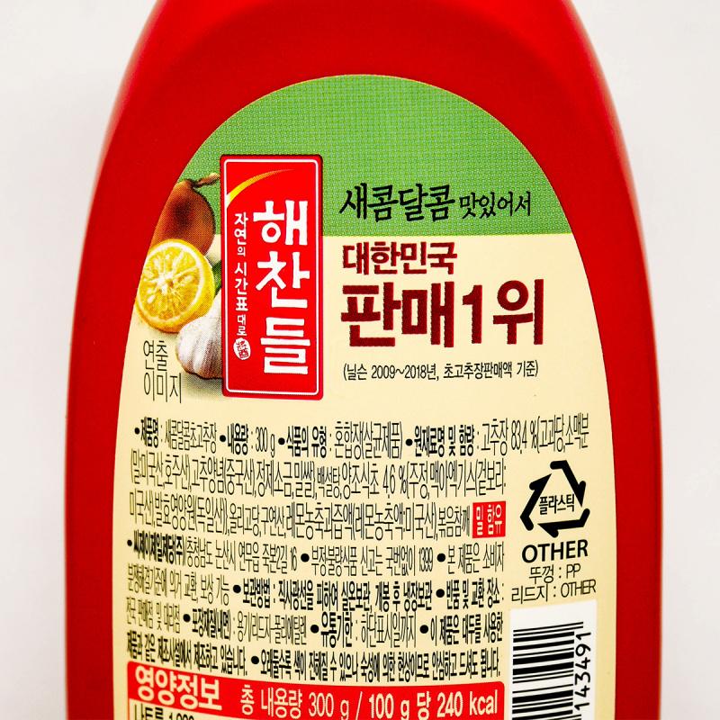 韓版CJ Haechandle 酸甜辣椒醬 300G【市集世界-韓國市集】