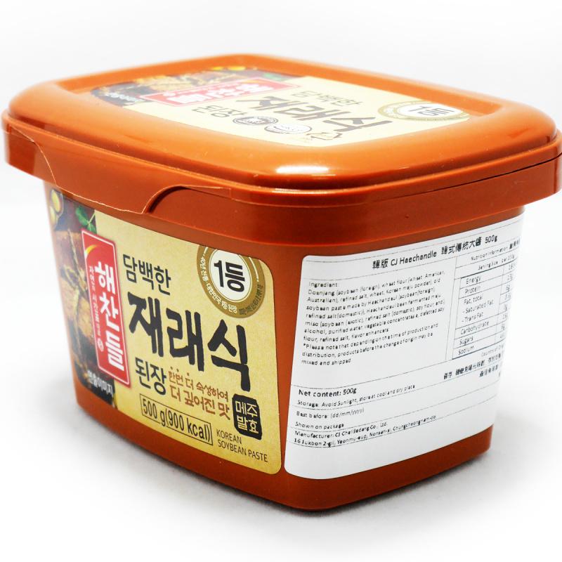韓版CJ Haechandle 韓式傳統大醬 500g【市集世界-韓國市集】