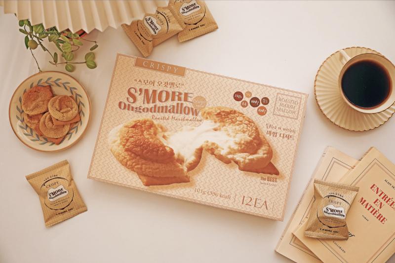 S'MORE Ohgodmallow 韓國低糖低卡棉花糖夾心餅乾 (12粒入)