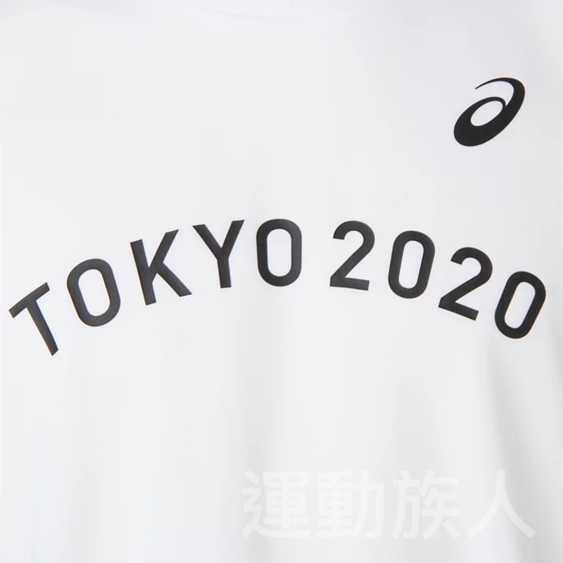 【💥Tokyo 2020 日本奧運】Asics 成人 奧運會 會徽 白色 TEE 多碼 日本直送