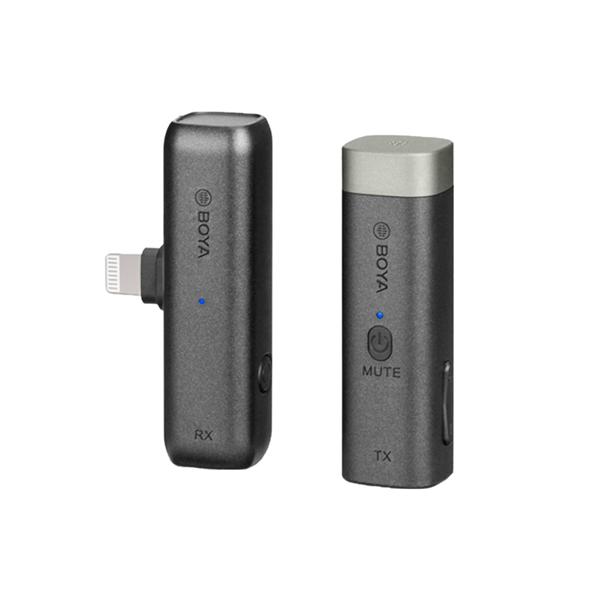 BOYA 2.4GHZ MICROPHONE (Lightning) PACKAGE 無線麥克風套裝 BY-WM3D