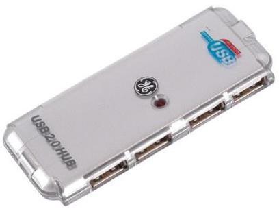 GE - USB 2.0集線器 4端口 分插器 GE-68751