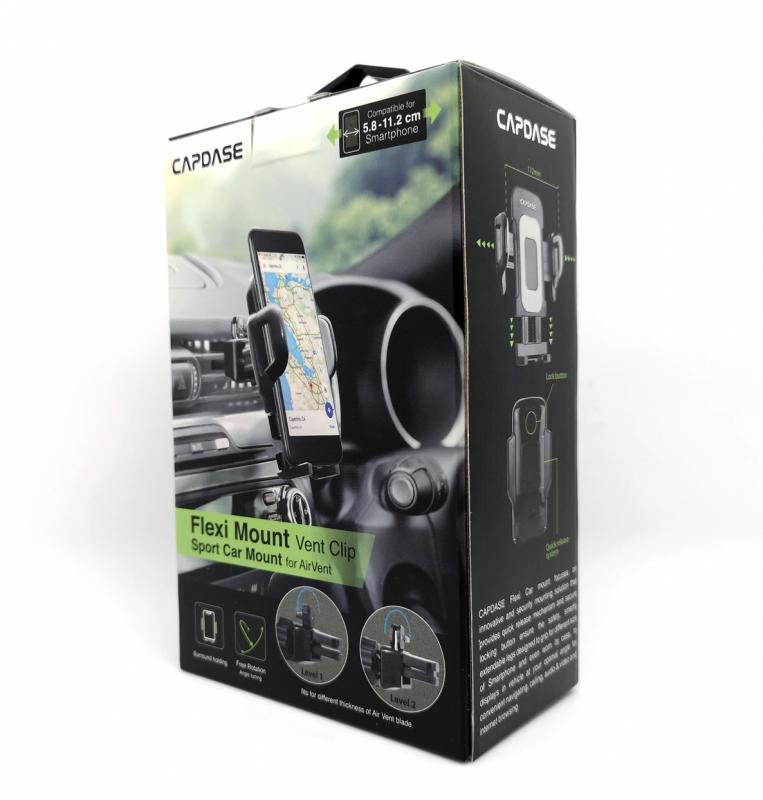 Capdase Sport Car Mount - Air Vent - FLEXI II - Vent Clip - HR00-SVF211
