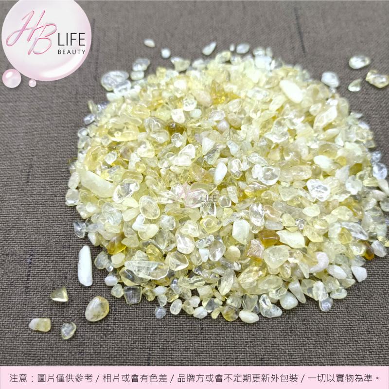 ORA 天然能量水晶碎石(磨滑)(黃水晶)(100克)
