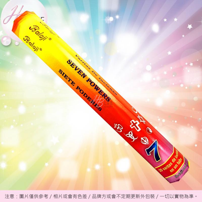 ORA Balaji Seven Powers 7能量支裝香(20支)