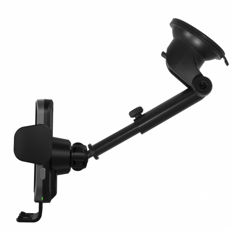 Capdase AI Power Fast Wireless Car Charging Auto Mount Telescopic Arm 磁感自動開合無線充 HR00-AIT0G