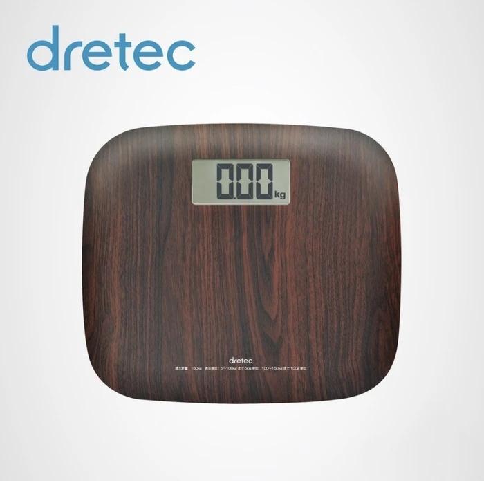 日本 Dretec BS-171 木紋體重磅 3-7工作天寄出
