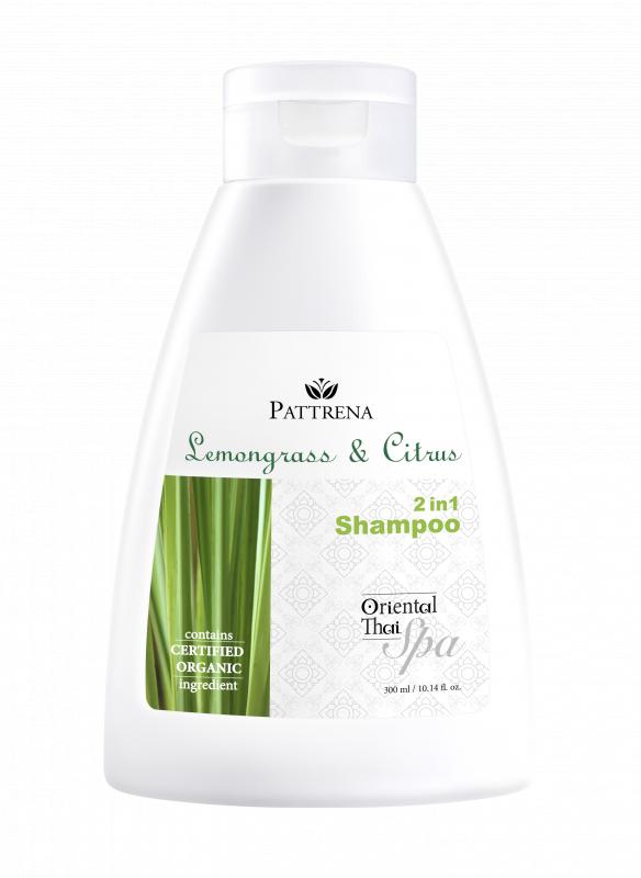 Pattrena - 《洗髪露》檸檬草與柑橘