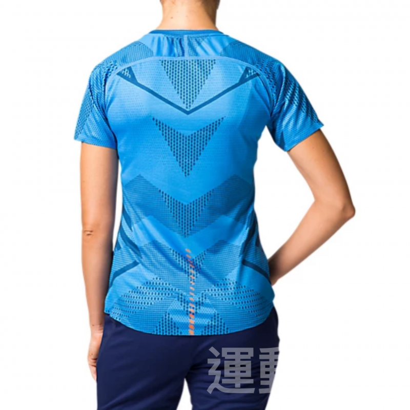 【💥日本直送】Asics女士 藍色 吸汗速乾 運動TEE 成人 XS - L 碼