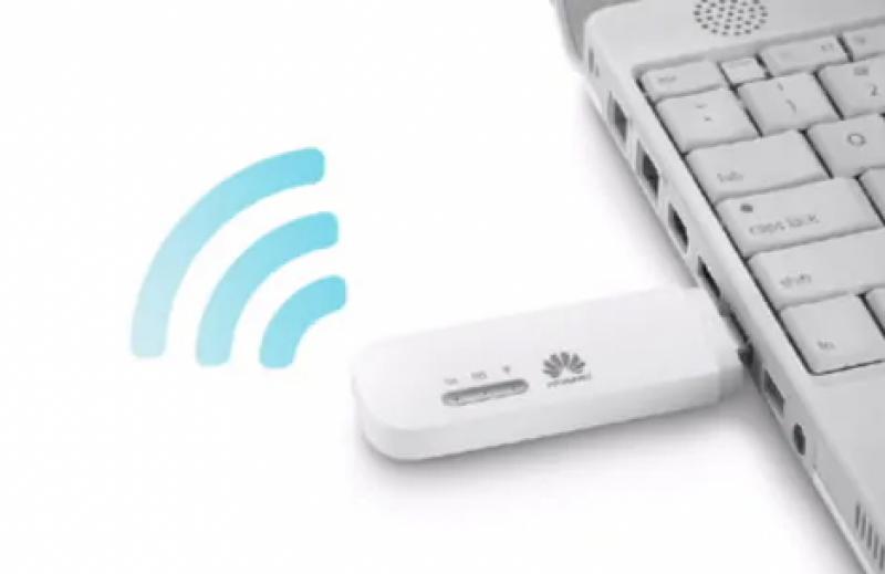 Huawei - HUAWEI E8372H 4GLTE Wifi 手指路由器