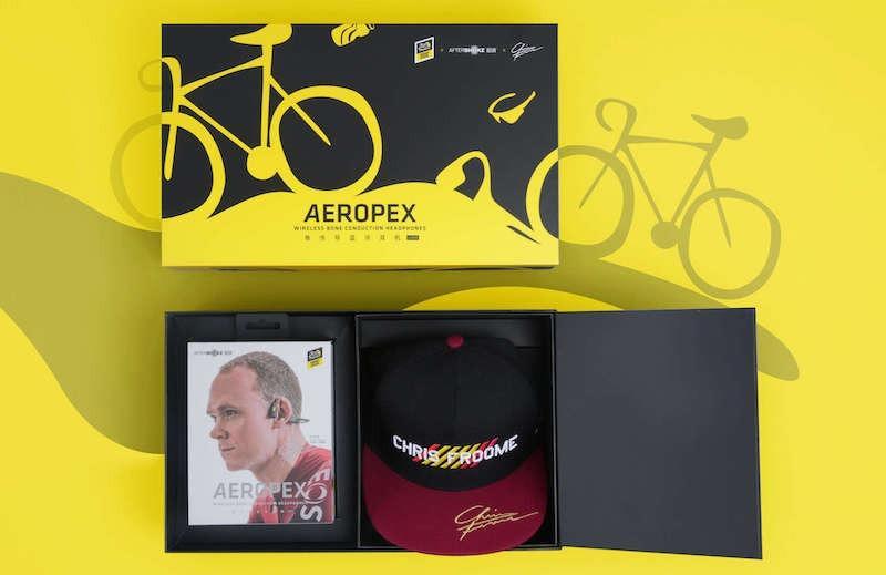 AfterShokz Aeropex AS800 骨傳導運動藍牙耳機 (環法記念版2020) 單車 耳機