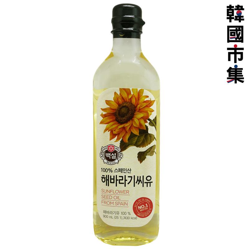 韓版CJ Beksul 食油 葵花籽油 900ml【市集世界 - 韓國市集】