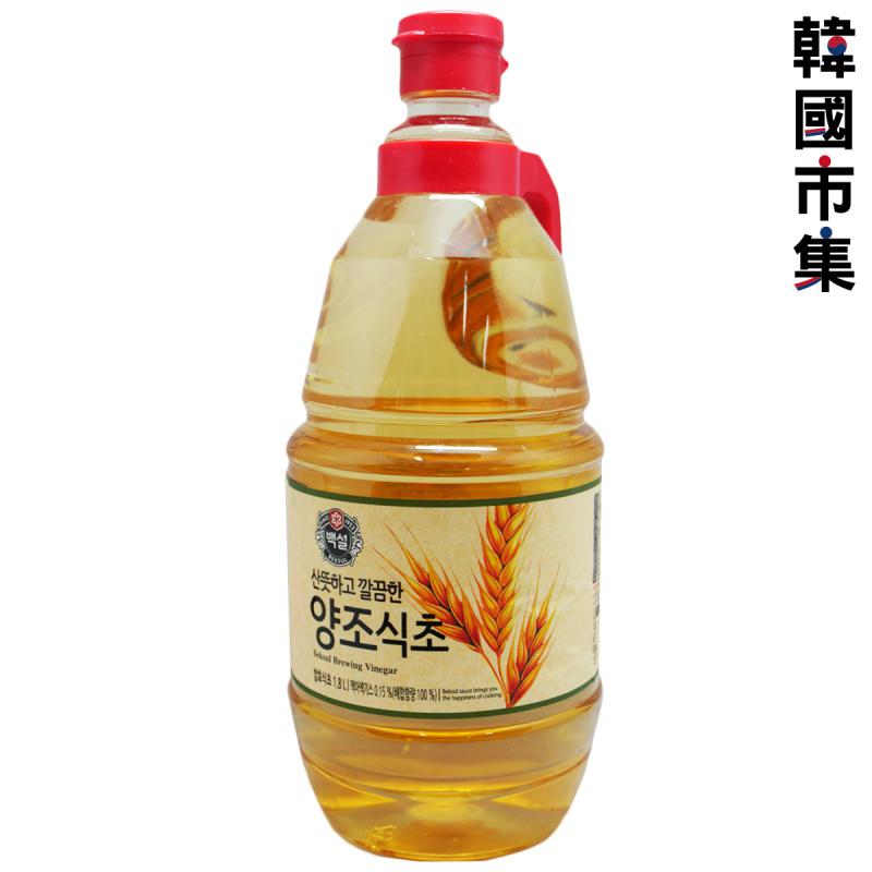韓版CJ Beksul 健康醋 釀造醋 1.8L【市集世界 - 韓國市集】