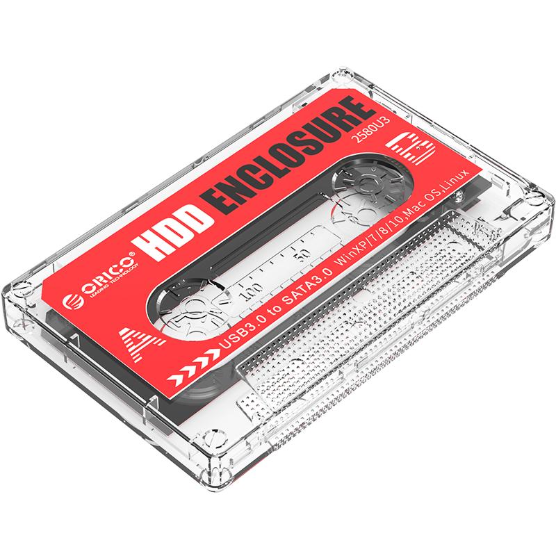 """Orico 2580U3 2.5"""" SATA 串口外接式移動硬盤盒"""