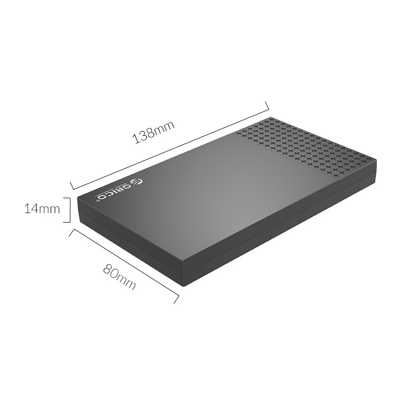 "Orico 2526C3 2.5"" Type-C SATA 串口外接式移動硬盤盒"