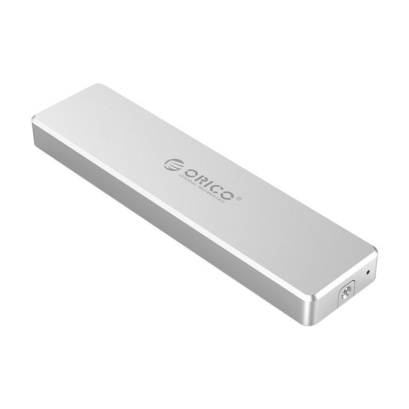ORICO Aluminum USB3.1 Gen2 Mini Clip-open M.2 M-Key NVME SSD Enclosure (PVM2)