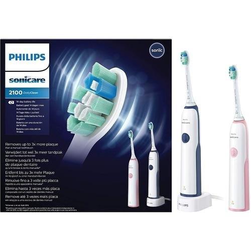 Philips Sonicare 2100 DailyClean HX3212/61 電動牙刷 (2支裝)