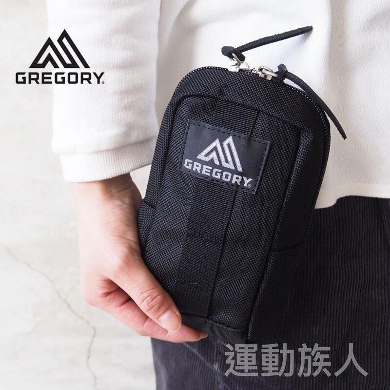 【💥 日本直送】0.57L GREGORY Quick Padded Case M 附件袋 收納袋 腰包 掛袋 黑色